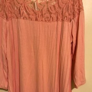 Tops - Ny collection pink blouse